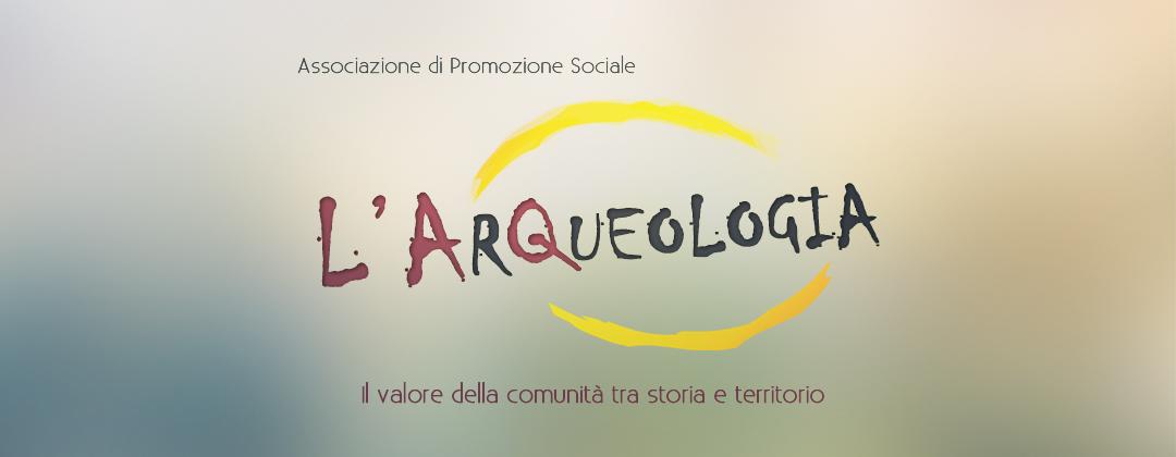 Slider Homepage L'Arqueologia con logo